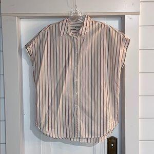 Madewell striped shirt small